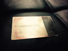 Got My FoundersCard Today